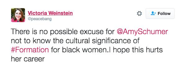 Uma crítica ao vídeo de Amy Schumer (Foto: Instagram)