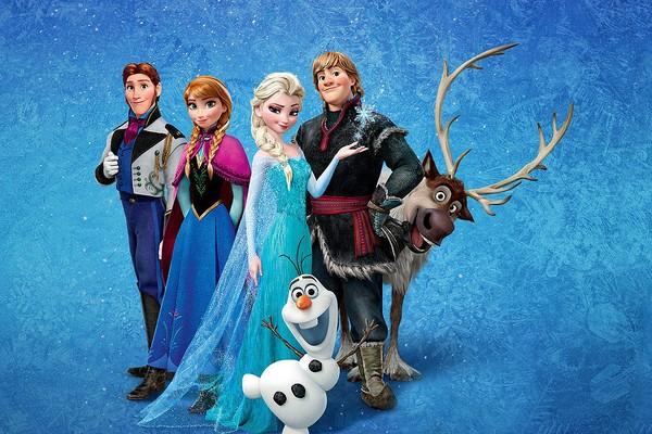 Os personagens da animação Frozen (2013) (Foto: Divulgação)