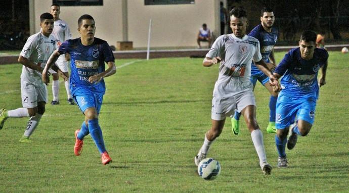 Dominio e posse de bola do São Raimundo-RR deram a tônica do jogo  (Foto: Imagem/Tércio Neto)
