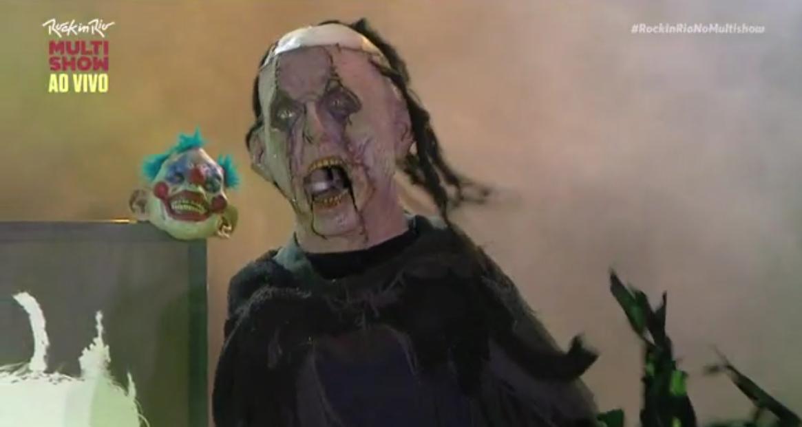 Alice Cooper faz festa do terror regada a muito rock no Palco Sunset (Foto: Reproduo)