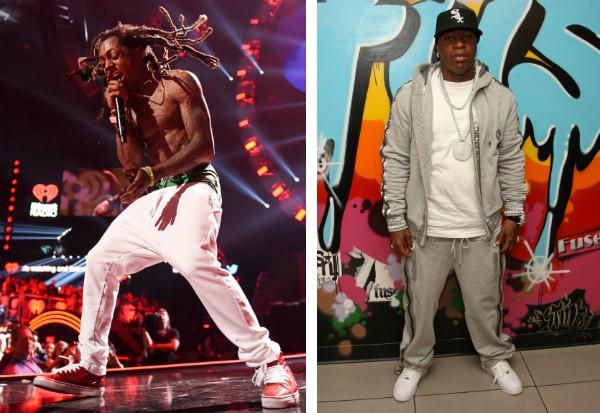 Os rappers Lil Wayne e Birdman (Foto: Getty Images)