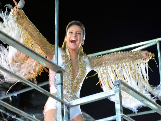 Claudia Leitte no Largadinho (Foto: Júnior Improta/Ag Haack)