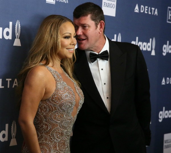 A cantora Mariah Carey e o empresário James Packer (Foto: Getty Images)