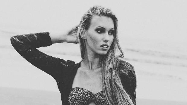 Vencedora do Garota Verão faz ensaio à beira-mar (Fagner Damasceno/Divulgação)