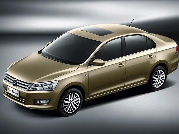 Volkswagen Santana 2013 China (Foto: Volkswagen)