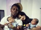 Mulher de Pepê se declara com fotos da cantora e filhos: 'Tudo que sonhei'