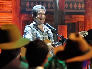 Daniel grava participação em Araguaia (Foto: TV Globo)