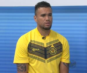 Tom, goleiro do São Carlos (Foto: Reprodução/EPTV)