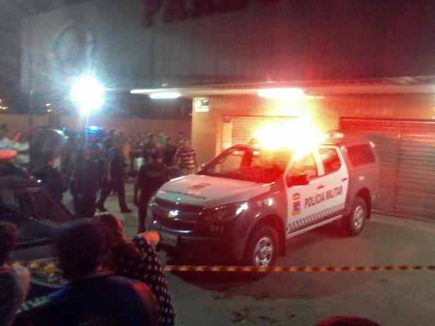 Crime aconteceu no Conjunto Cidade Satélite (Foto: Tom Guedes/Inter TV Cabugi)