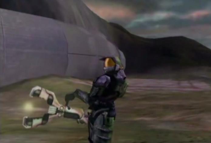 A arma Gravity Wrench nunca apareceu em nenhum game da franquia (Foto: Reprodução)