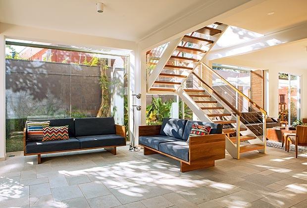 escada para o jardim:Para o jardim, avante! – Casa e Jardim