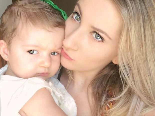 Mãe compartilhou caso após filha ficar engasgada com amendoim no pulmão (Foto: Reprodução/Facebook)