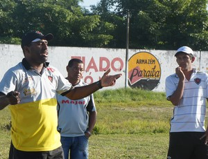 Treinador do Botafogo-PB Sub-19, Agnaldo Oliveira (Foto: Rammom Monte)