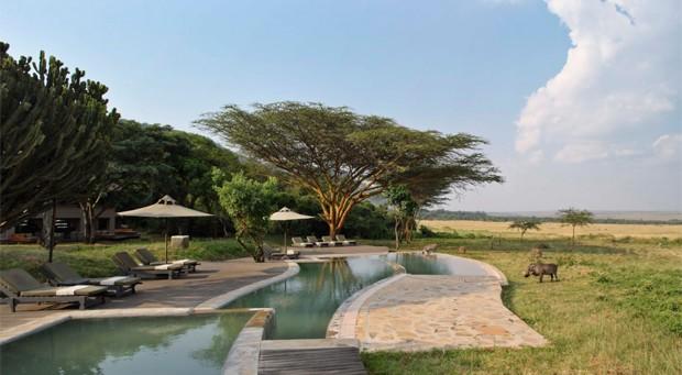 AndBeyond Kichwa Tembo Tented Camp, em Masai Mara, no Quênia (Foto: Divulgação/AndBeyond)