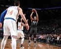 Com bolas de três de gigante, lanterna bate Knicks no clássico de Nova York