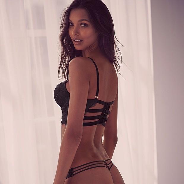Lais Ribeiro - Victoria's Secret (Foto: Repodrução / Instagram)