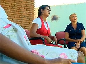 Adolescente de 12 anos grávida do primo dá à luz em maternidade na BA (Foto: Reprodução/ TV Bahia)