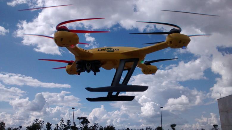 drones_agrishow_2014_OFICIAL (Foto: Divulgação/EMBRAPA)