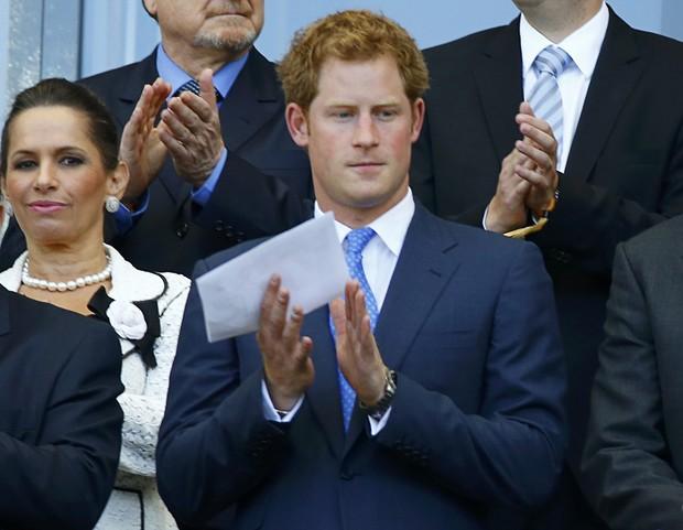 Príncipe Harry acompanha partida da Inglaterra em Belo Horizonte (Foto: Murad Sezer/Agência Reuters)