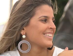 Mari Paraíba, em Campina Grande (Foto: Reprodução / TV Paraíba)