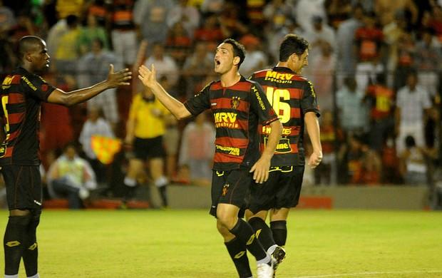sport x atlético-mg gilberto (Foto: Aldo Carneiro / Pernambuco Press)