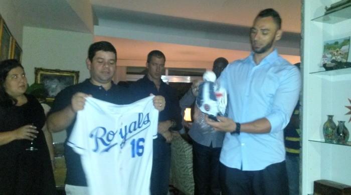 Paulo Orlando, jantar beneficente projeto social Baseball Escolar