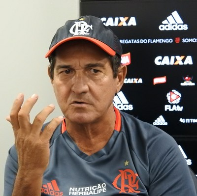 Muricy Ramalho, Flamengo (Foto: Fred Gomes/GloboEsporte.com)