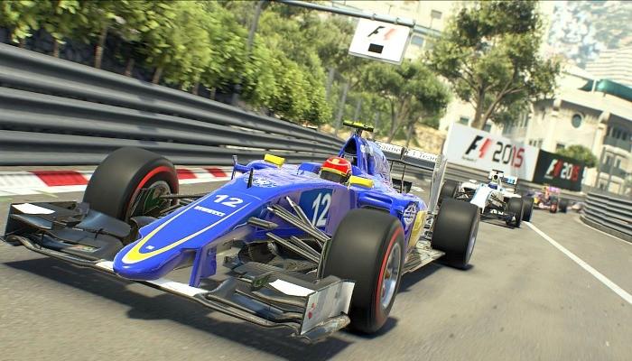 Felipe Nasr Mônaco game F12015