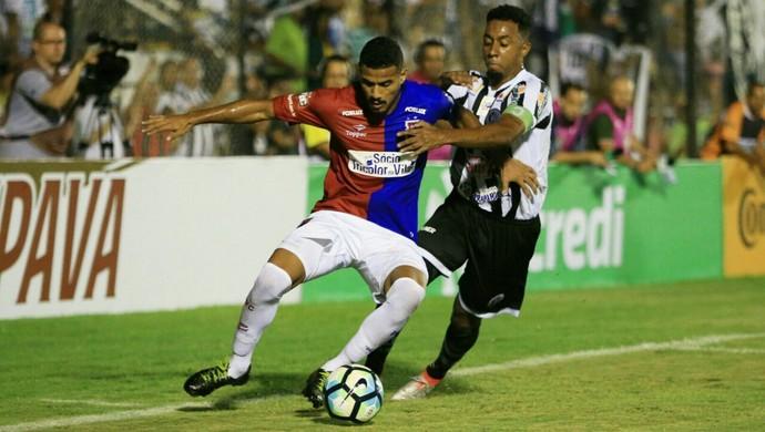 ASA x Paraná, em Arapiraca  (Foto: Ailton Cruz / Gazeta de Alagoas)