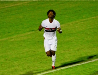 Cortez Primavera gol contra o São José (Foto: Danilo Sardinha/GloboEsporte.com)