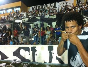 Atacante Geilson do Mixto (Foto: Lucas de Senna/TVCA)