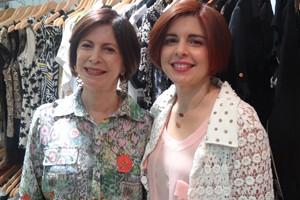 Mãe e filha, Herminia Campos e Danielle Ferraz, já são antigas consumidoras de luxo (Foto: Gabriela Belém/G1)