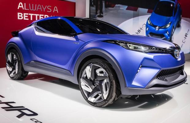 Toyota C-HR Concept no Salão de Paris (Foto: Divulgação)