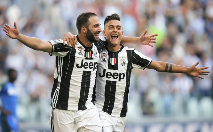 Higuaín Juventus x Sassuolo (Foto: AFP)