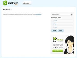 Shelfster Desktop Tool, gerenciador de arquivo
