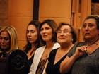 Familiares e amigos vão à missa de sétimo dia de Paulo Goulart no Rio