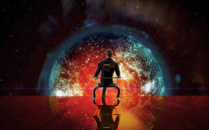 Illusive Man (Homem Elusivo) vai de herói a vilão (Foto: Divulgação/EA)
