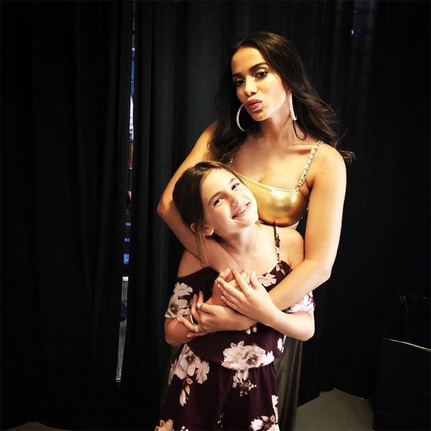 Anitta e Anja Ambrosio (Foto: Reprodução/Instagram)