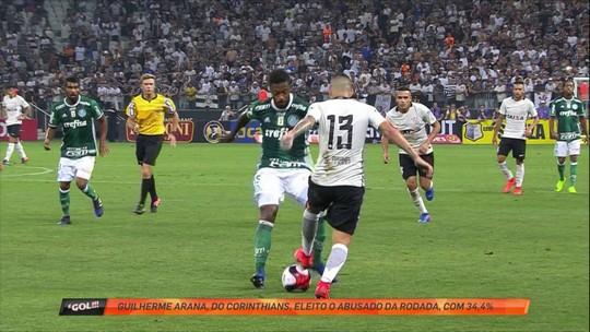 Bela caneta de Guilherme Arana vence enquete de abusado da rodada