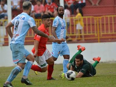 Rio Branco-PR Londrina lance gol Celsinho Paulo Rangel (Foto: Gustavo Oliveira/ Londrina Esporte Clube)