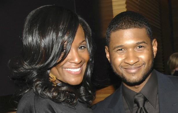 Recentemente, vazou um vídeo de Usher fazendo sexo com a personal stylist Tameka Foster, agora sua atual ex-esposa. Parece que o filme veio a público por causa de um furto de que o rapper fora vítima dois anos atrás. Conseguiram abrir seu carro, levar mais de 1 milhão de dólares em joias e... Dois laptops. (Foto: Getty Images)