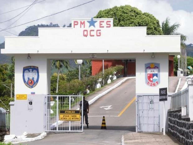 Quartel da Polícia Militar em Maruípe, Vitória (Foto: Arquivo/ A Gazeta)