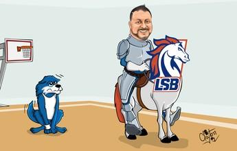 Charge: cavalo é o novo símbolo da Liga Sorocabana de Basquete