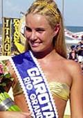 Priscila Conrado Flores, Garota Verão 2001 (Foto: Zero Hora)