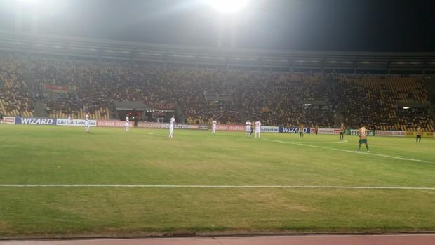 Sampaio e Portuguesa jogam pela Série B do Brasileiro no Estádio Castelão (Foto: Bruno Alves/Globoesporte.com)