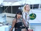 Michelle Rodriguez e Jessica Stam disputam a atenção com looks sexy