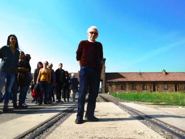 Andor em Auschwitz (Foto: Gabriel Davi Pierin/Arquivo Pessoal)