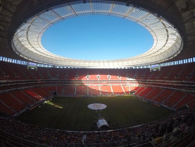 Mané Garrincha Fluminense Atlético-MG (Foto: Richard Souza / GloboEsporte.com)