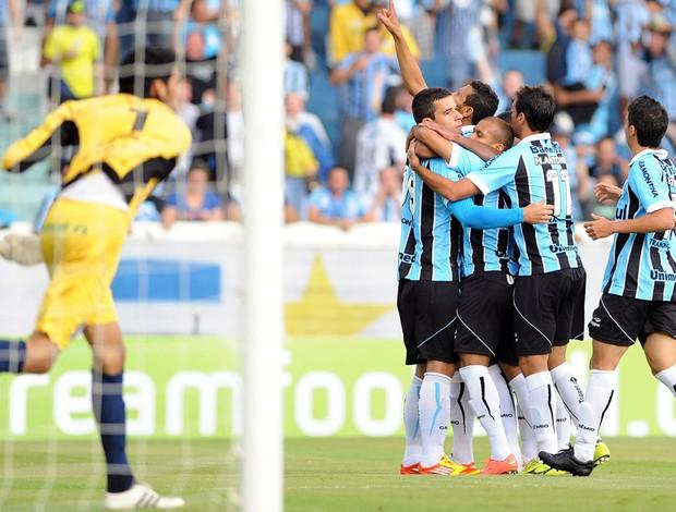 André lima grêmio gol canoas (Foto: Edu Andrade / Agência Estado)