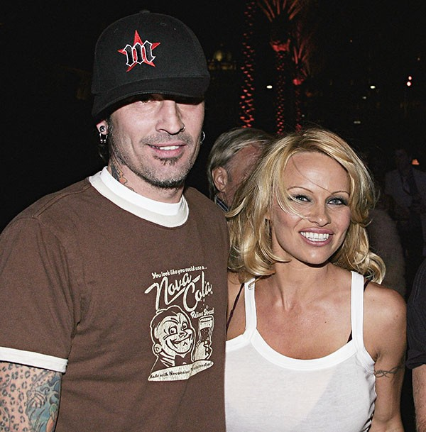 Pamela Anderson e Tommy Lee (Foto: Getty Images)